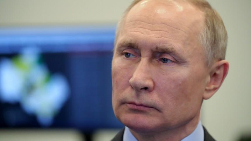 Путин выразил готовность оказать Китаю помощь вборьбе скоронавирусом