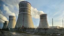 Произошло отключение третьего энергоблока украинской РАЭС