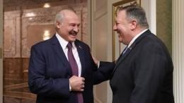 Лукашенко навстрече сПомпео пошутил про диктатуру