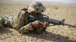Опубликовано видео уничтожения цели американской винтовкой M16