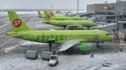 Угрожавшую взрывом пассажирку нарейсе S7 арестовали надва месяца