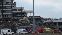 Пофакту гибели рабочего при обрушении СКК вПетербурге возбуждено уголовное дело