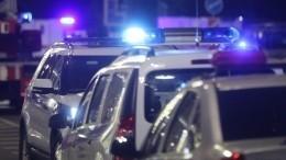 Нарушитель, пытавшийся поджечь храм вПетербурге, попал навидео