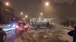 Один человек погиб ипятеро пострадали ваварии смаршруткой вПетербурге