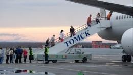 Стойка шасси частично разрушилась при посадке самолета вТомске— прокуратура
