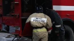 Видео «огненного» ДТП вПодмосковье, вкотором пострадали два человека