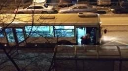 Житель Петербурга попытался свести счеты сжизнью вобщественном транспорте