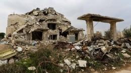 Боевики обстреляли самодельными фугасами сирийский Алеппо