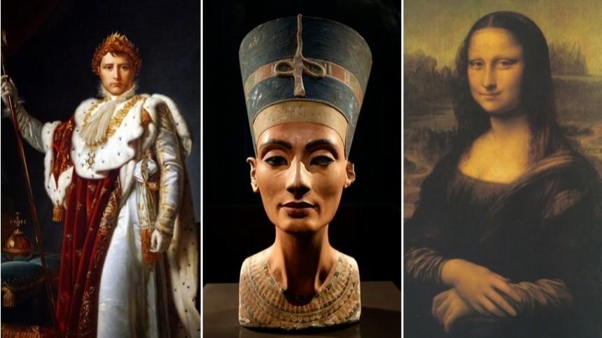 Какбы выглядели Мона Лиза, Наполеон иКлеопатра внаше время?