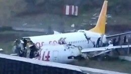 Подробности аварии пассажирского самолета ваэропорту Стамбула