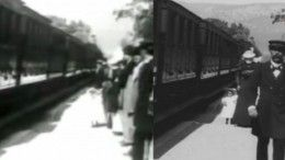 Россиянин рассказал, как улучшил фильм «Прибытие поезда» спомощью нейросетей
