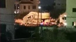 Автомобиль протаранил пешеходов вИерусалиме