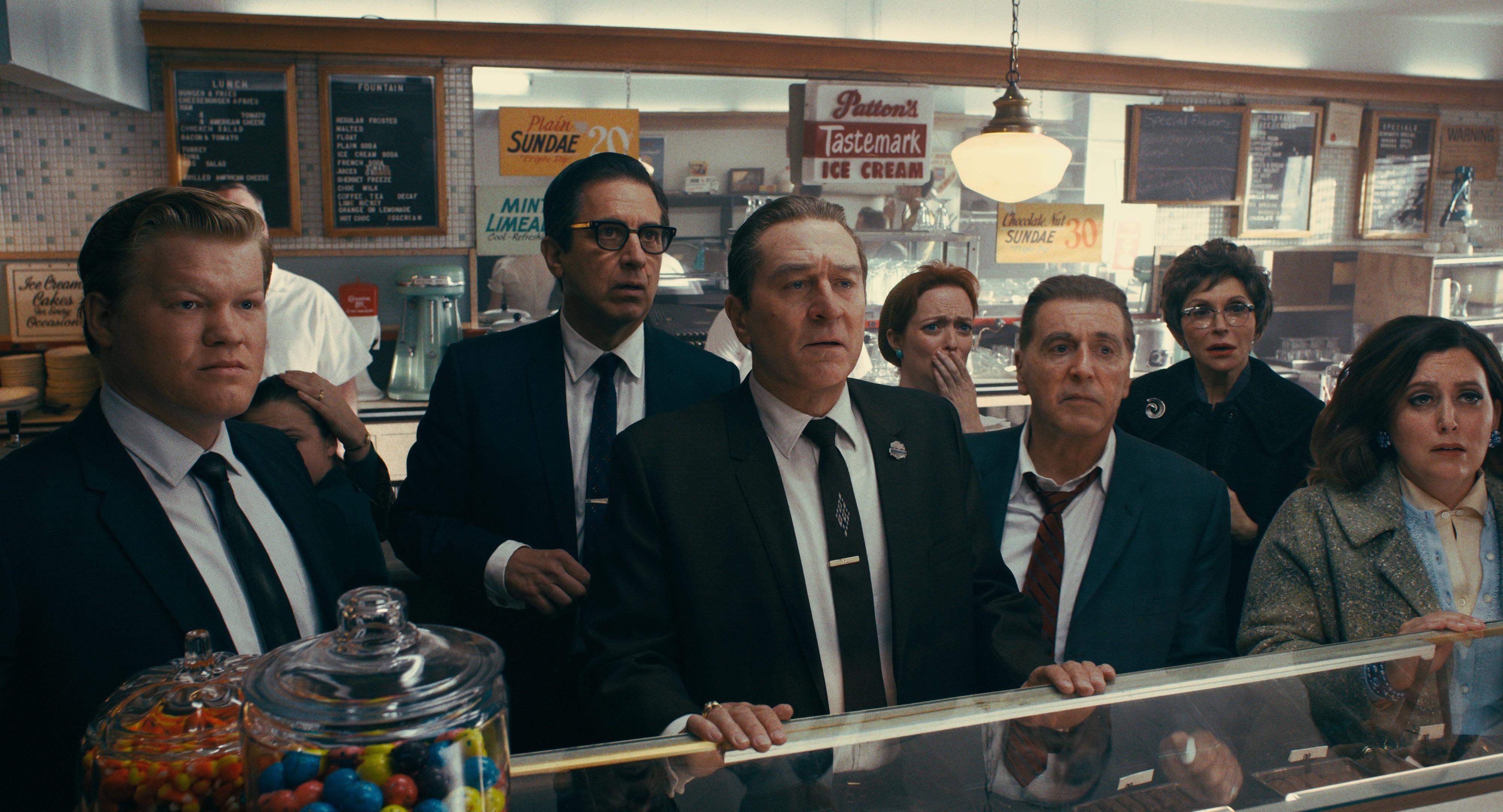 Кадр из фильма «Ирландец», 2019 год.