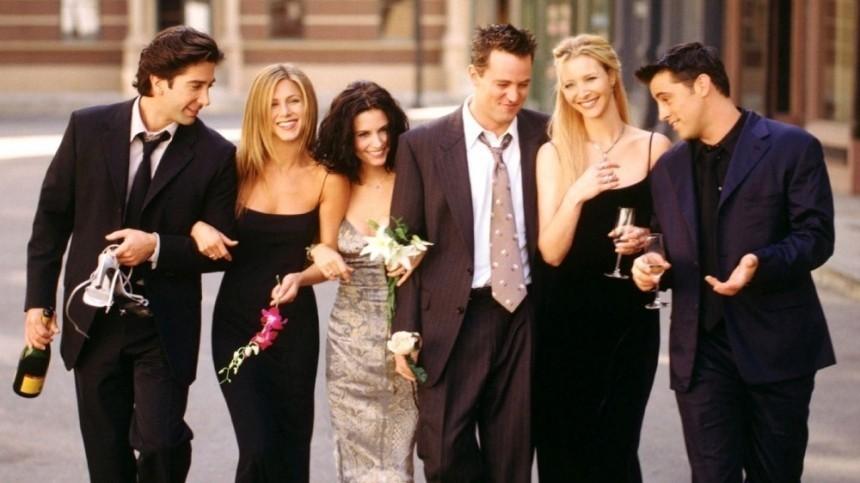 Знаменитой шестерке из«Друзей» заплатят 4 миллиона долларов заспецвыпуск сериала