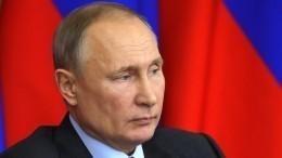 Путин утвердил состав Совета при президенте постратегическому развитию инацпроектам