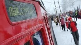Запуск бесплатных поездов «Лыжные стрелы» состоялся вПетербурге