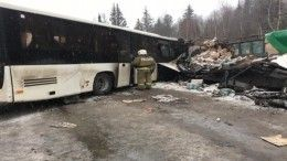 Три человека пострадали иодин погиб вДТП савтобусом вКемеровской области