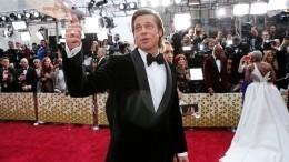 Брэд Питт получил «Оскара» зароль второго плана в«Однажды вГолливуде»