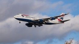 Самолет перелетел через Атлантику зарекордное время благодаря шторму