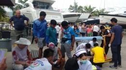 Двое человек погибли при столкновении катеров наострове Пхукет вТаиланде