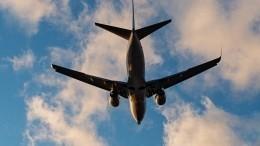 Boeing-737 вырабатывает топливо над Красноярском перед аварийной посадкой