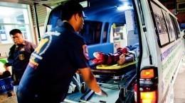 Шокирующие кадры: Медики реанимируют детей, пострадавших при столкновении катеров наПхукете