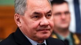 Шойгу рассказал оподготовке парада Победы наКрасной площади
