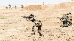 Уколонны американских военных вИраке прогремел взрыв
