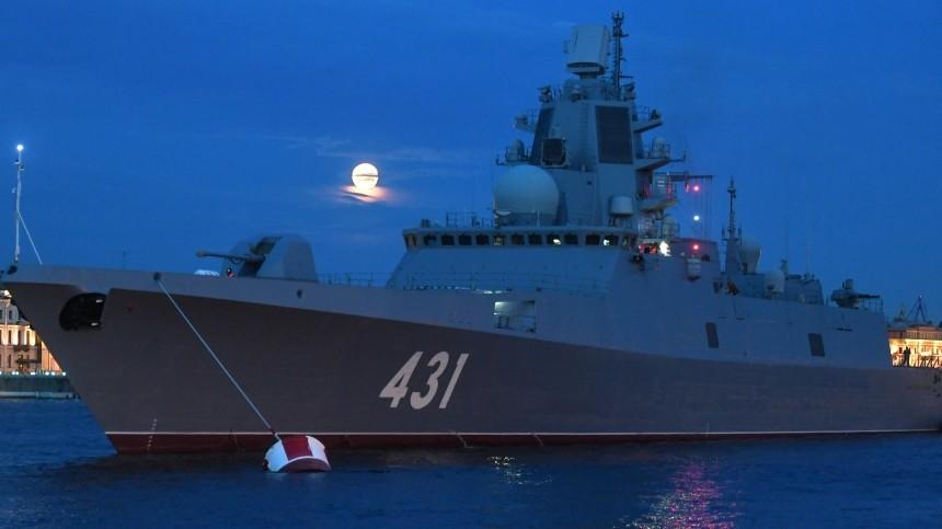 Испытания фрегата «Адмирал Касатонов» прошли вБаренцевом море