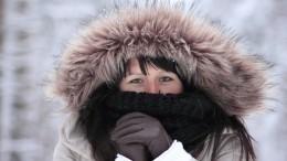 Адвокаты изНорильска исполнили зажигательный танец вкупальниках в30-градусный мороз