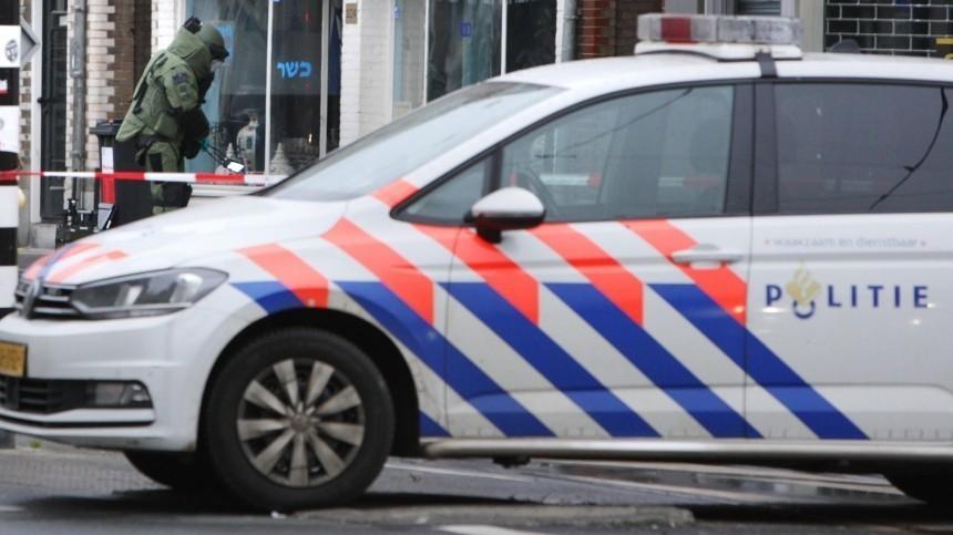 Видео сместа второго взрыва вНидерландах