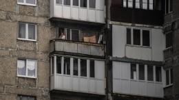 Школьница прогулялась покраю балкона вПензе ипопала навидео