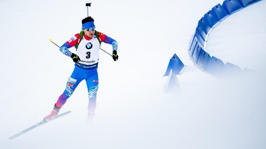 Чемпионат мира побиатлону: Россия сфлагом, нобез гимна?