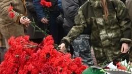 Мемориальный комплекс, посвященный подвигу воинов-десантников, открыли вЛенобласти