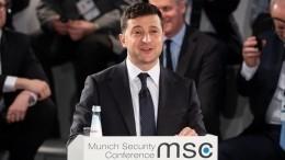 Зеленский заявил вМюнхене ожелании провести выборы вКрыму