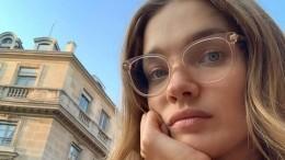 Водянова вхалате ибез макияжа посреди Палермо покаялась внезнании географии