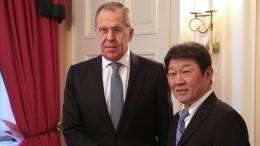 Глава МИД Японии заявил осмене этапа переговоров сРоссией