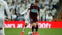 Гол Смолова помог «Сельте» сыграть вничью с«Реалом»
