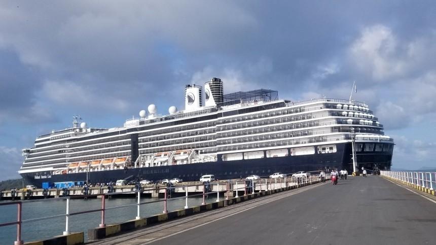 Все россияне покинули круизный лайнер Westerdam, пришвартованный вКамбодже