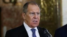 Сергей Лавров озвучил позицию России поситуации вЛивии