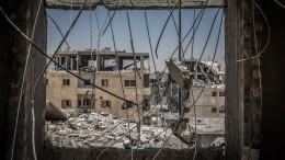 Сирийской Ракке грозит экологическая катастрофа— видео
