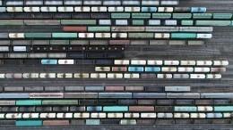 Четверо москвичей попались накраже техники изтоварных поездов