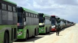 ВБджарезе заработал первый изшести запланированных пунктов пропуска беженцев изИдлиба