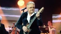 Юрий Антонов отмечает 75-летний юбилей