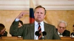 ВПетербурге вспоминают первого мэра города Анатолия Собчака