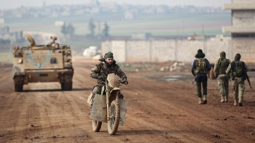 Турция обвинила Сирию ввоздушном ударе посвоим позициям после схватки вИдлибе