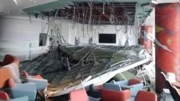 В«Шереметьево» обвалился потолок— фото