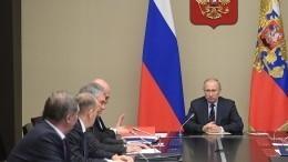 Владимир Путин обсудил счленами Совбеза ситуацию вокруг Идлиба