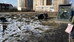 Автомобиль врезался востановку под Москвой, есть пострадавшие