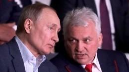 Владимир Путин прибыл напервый чемпионат Лиги боевого самбо вСочи